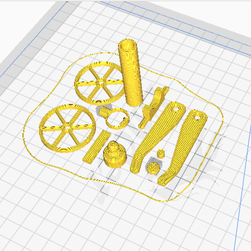 small canon ball.png Download STL file Tiny Functional Cannon Ball With Trigger Mechanism • 3D printing template, anil-baris