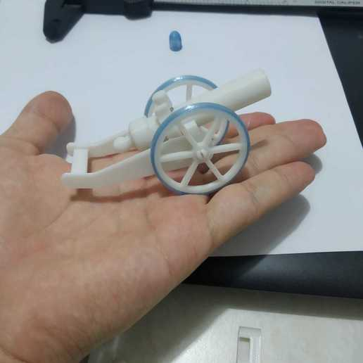 WhatsApp Image 2020-10-04 at 22.42.51.jpeg Download STL file Tiny Functional Cannon Ball With Trigger Mechanism • 3D printing template, anil-baris