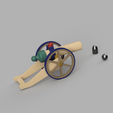 small_canon_ball_2020.png Download STL file Tiny Functional Cannon Ball With Trigger Mechanism • 3D printing template, anil-baris