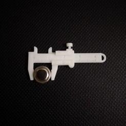 Télécharger fichier STL Porte-clés Vernier Caliper, anil-baris