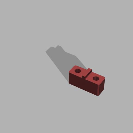 Télécharger fichier impression 3D Entretoise de treuil servo de récifs pour Vanquish VS410 pro, goatz6