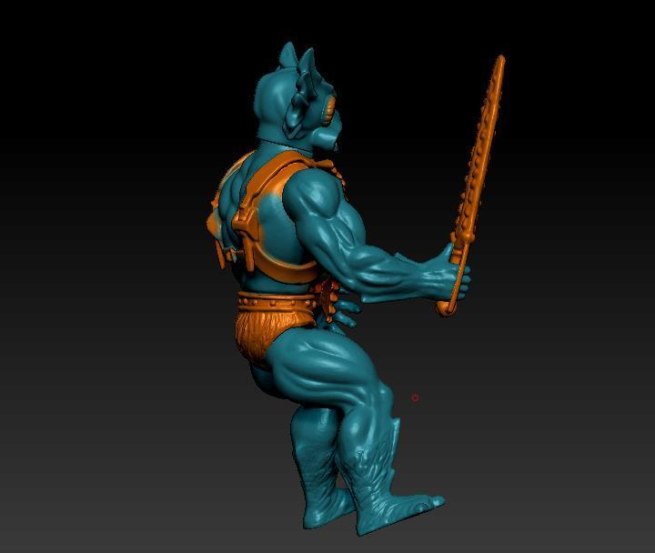 ScreenShot752.jpg Download STL file He-man Merman Motu stile action figure • 3D printable design, DESERT-OCTOPUS