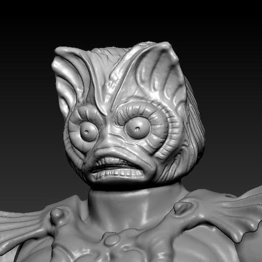 ScreenShot758.jpg Download STL file He-man Merman Motu stile action figure • 3D printable design, DESERT-OCTOPUS