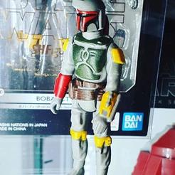 Download STL file Star Wars .stl Bobafett.3D action figure .OBJ Kenner style., DESERT-OCTOPUS