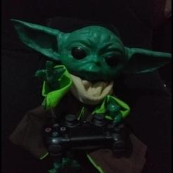 Descargar archivos STL Baby Yoda The mandalorian, The kid, Starwars doll full scale. 1:1, DESERT-OCTOPUS