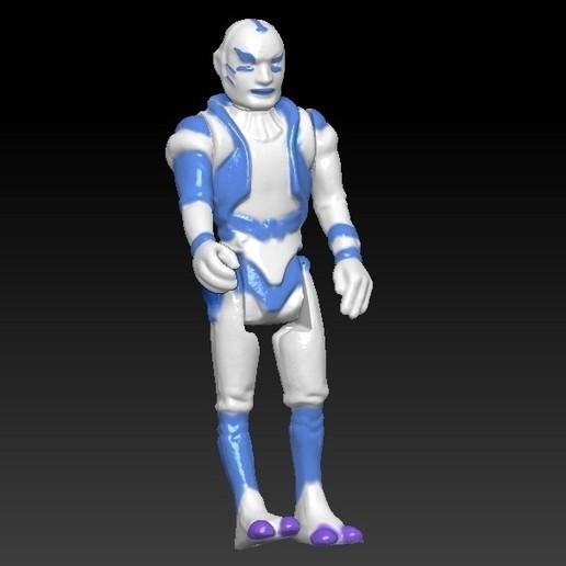 ScreenShot664.jpg Télécharger fichier STL Star Wars .stl Tig Fromm .Figurine 3D .OBJ Kenner style. • Design imprimable en 3D, DESERT-OCTOPUS