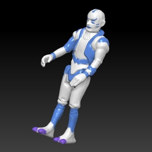 ScreenShot666.jpg Télécharger fichier STL Star Wars .stl Tig Fromm .Figurine 3D .OBJ Kenner style. • Design imprimable en 3D, DESERT-OCTOPUS