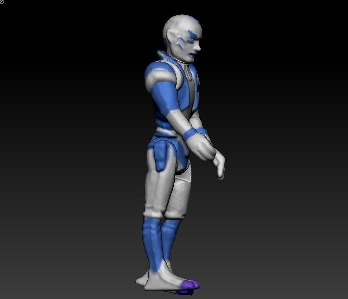 ScreenShot661.jpg Télécharger fichier STL Star Wars .stl Tig Fromm .Figurine 3D .OBJ Kenner style. • Design imprimable en 3D, DESERT-OCTOPUS