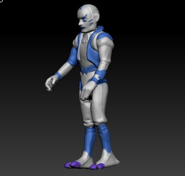 ScreenShot659.jpg Télécharger fichier STL Star Wars .stl Tig Fromm .Figurine 3D .OBJ Kenner style. • Design imprimable en 3D, DESERT-OCTOPUS