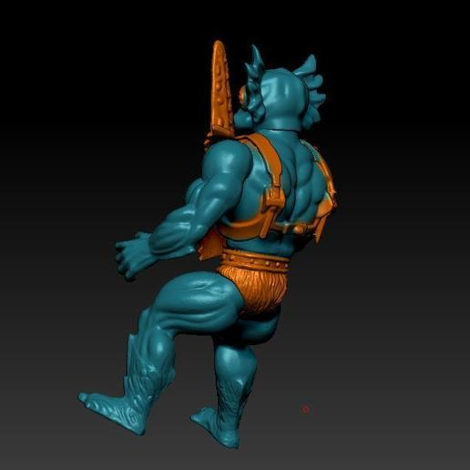 ScreenShot751.jpg Download STL file He-man Merman Motu stile action figure • 3D printable design, DESERT-OCTOPUS