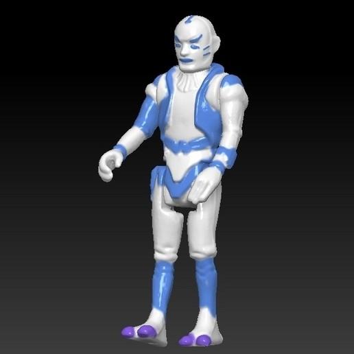 ScreenShot662.jpg Télécharger fichier STL Star Wars .stl Tig Fromm .Figurine 3D .OBJ Kenner style. • Design imprimable en 3D, DESERT-OCTOPUS