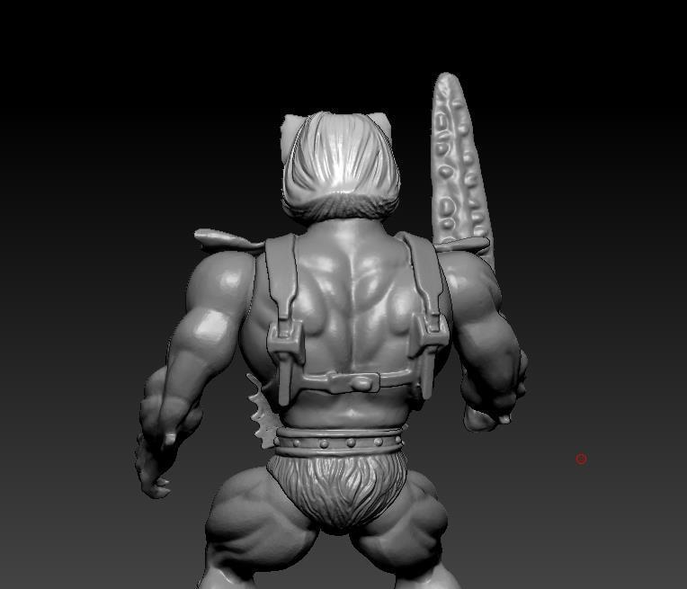 ScreenShot760.jpg Download STL file He-man Merman Motu stile action figure • 3D printable design, DESERT-OCTOPUS
