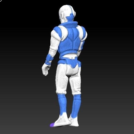 ScreenShot669.jpg Télécharger fichier STL Star Wars .stl Tig Fromm .Figurine 3D .OBJ Kenner style. • Design imprimable en 3D, DESERT-OCTOPUS