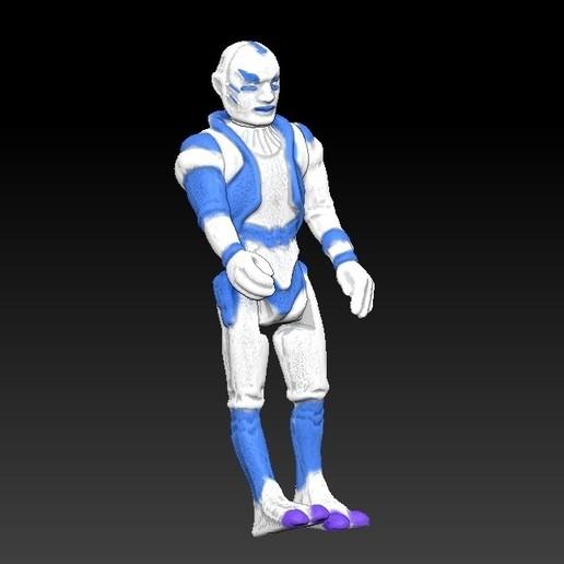 ScreenShot668.jpg Télécharger fichier STL Star Wars .stl Tig Fromm .Figurine 3D .OBJ Kenner style. • Design imprimable en 3D, DESERT-OCTOPUS