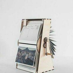 descarga.jpg Download STL file flip book machine photo film machine • 3D printing model, nikosanchez8898