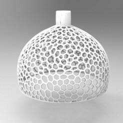 untitled.224.jpg Télécharger fichier STL lampe voronoi 30 cm • Objet imprimable en 3D, nikosanchez8898