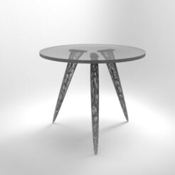 untitled.197.jpg Download STL file voronoi table legs • 3D printer template, nikosanchez8898