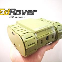 Descargar modelos 3D gratis EdRover - Mini RC Tank Rover, EdwardChew
