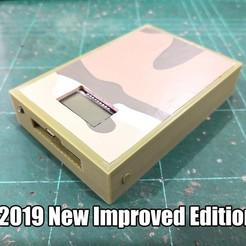 Download free 3D print files 18650 Powerbank Case Box DIY, EdwardChew