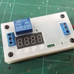 frm01_delay_timer_case_completed.jpg Télécharger fichier STL gratuit FRM01 Boîtier de protection pour relais temporisateur FRM01 • Objet pour impression 3D, EdwardChew