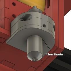 Download free STL ERC TimSav - Expansion Roland Cutter or Pen Holder, EdwardChew