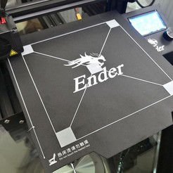 Download free 3D printing templates Creality Ender 3 Bed Leveling Calibration File - 190mm x 190mm, EdwardChew