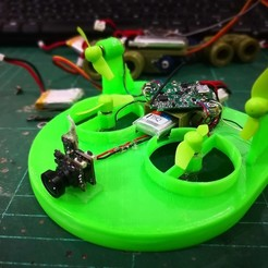 Download free 3D printer designs Tiny Whoov FC Lipo Battery Holder, EdwardChew