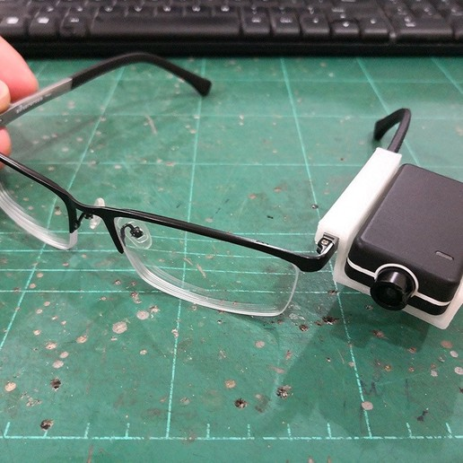 Download free 3D print files Mobius Mini Holder for Spectacle Eye Level View Recording, EdwardChew