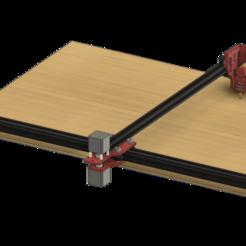 Descargar archivos STL gratis ERC TimSav - Cortador de tablero de espuma CNC barato de bricolaje, EdwardChew
