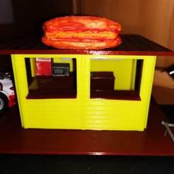 Descargar diseños 3D gratis Hamburguesería a escala 1:32, manfred72