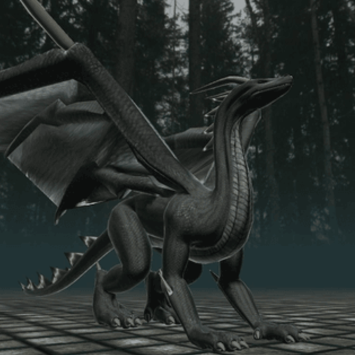 black_dragon_rigged_and_game_ready-1.png Télécharger fichier STL gratuit Dragon noir • Modèle à imprimer en 3D, arnettha