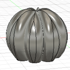 Captura de pantalla 2020-09-30 a la(s) 18.21.55.png Download STL file Round Cactus, candle, soap Mold • 3D printable template, dielgarcia
