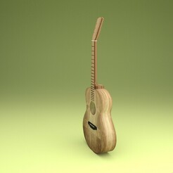 costado.jpg Télécharger fichier STL guitare acoustique • Design pour impression 3D, josemaria8507