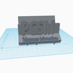 Download free OBJ file professional card • 3D printable model, pcsm732