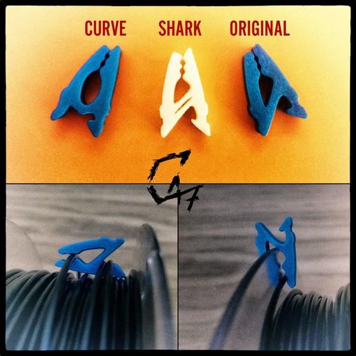 """JG_filament_clip_v2.jpg Télécharger fichier STL gratuit Utilisez comme vous voulez"""" - V2 - Filament Clip • Plan pour impression 3D, c47"""
