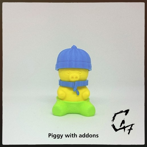 IMG_20190508_130543.jpg Download free STL file Piggy • 3D printing template, c47