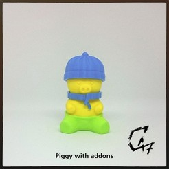Download free 3D printing models Piggy, c47