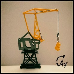 Cranosaurus_updated.jpg Download free STL file Crane for assembling - UPDATED • Design to 3D print, c47