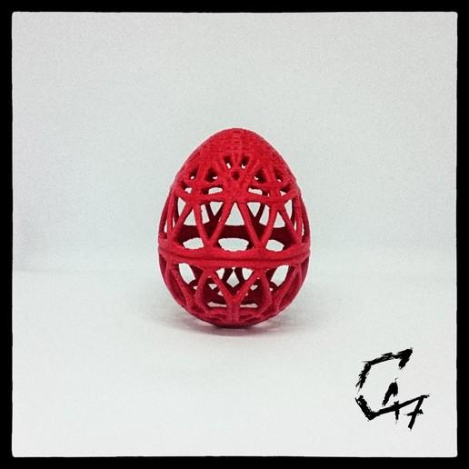 Download free 3D printer designs Easter Egg, c47