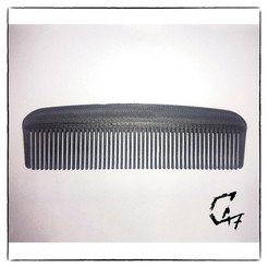 Download free STL files Small beard/hair comb, c47
