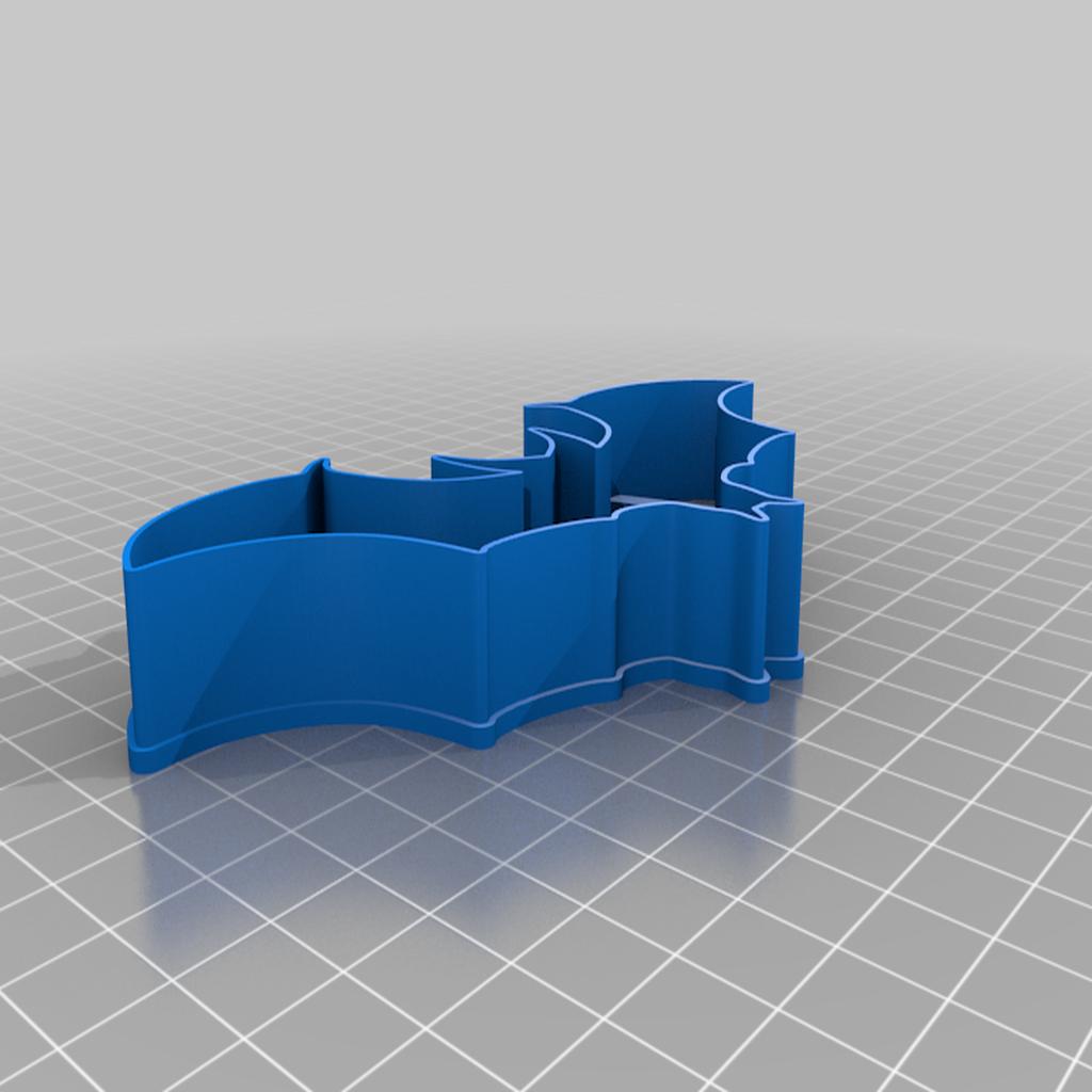 JG_bloodwars_cookie_outline.png Download free STL file Bloodwars bat cookie cutter • 3D print design, c47