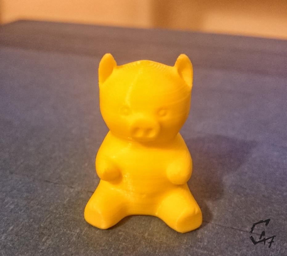 piggy.jpg Download free STL file Piggy • 3D printing template, c47