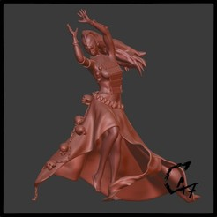 Download free 3D printer designs Bloodwars - Cultist figurine, c47