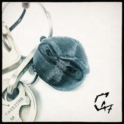 Télécharger fichier impression 3D gratuit Porte-clés NinjaHead, c47