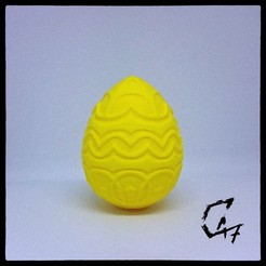 Download free 3D printer designs Easter Egg 4, c47