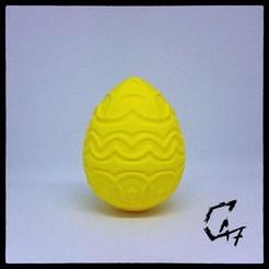 Descargar archivos 3D gratis Huevo de Pascua 4, c47