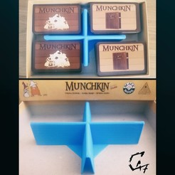 Télécharger fichier 3D gratuit Sépparateur de carte simple Munchkin, c47