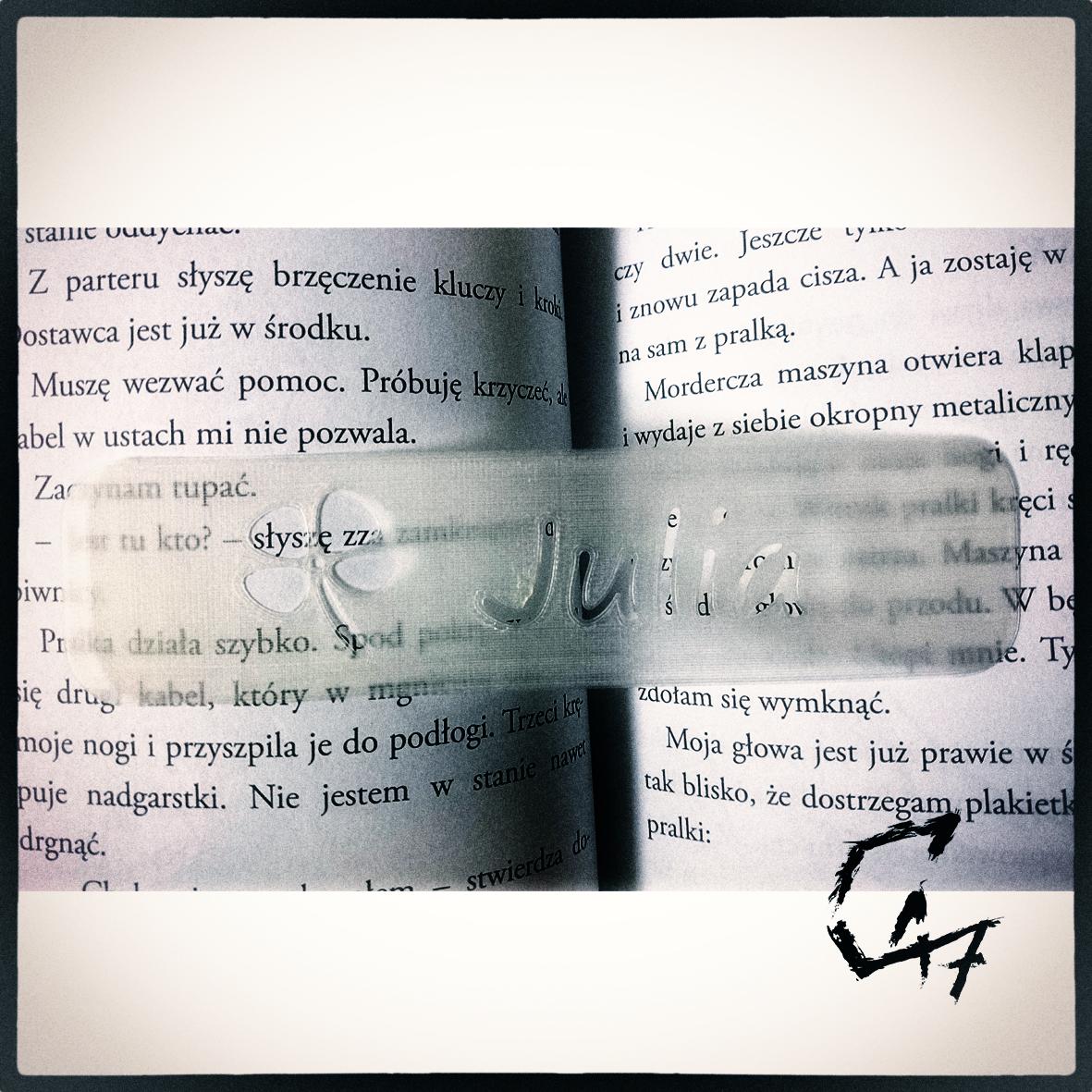 JG-Bookmark-Julia.png Download free STL file Bookmark - Flower - Julia • Model to 3D print, c47