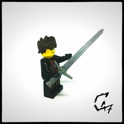 Download free 3D printer model LEGO Witcher Sword, c47
