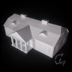 Manor house_1.jpg Download free 3MF file Manor House • 3D printing object, c47